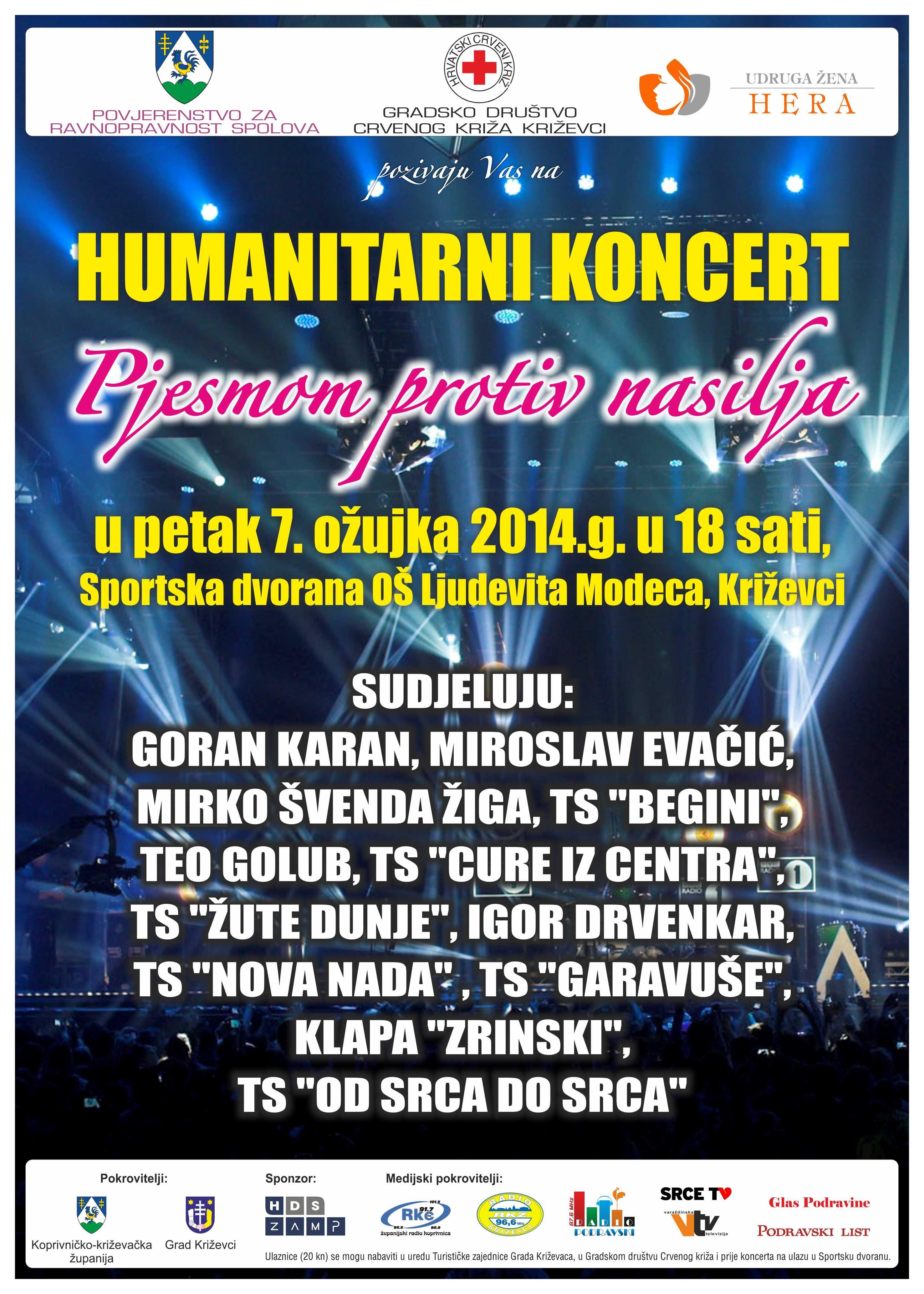 Plakat koncert